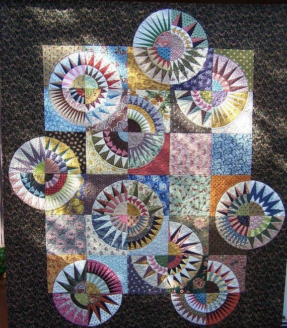 Reproductie schoonheden quilt patroon van PatchworkFun op Etsy