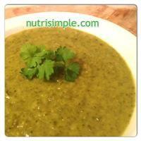 Ce délicieux potage SIMPLE à réaliser est riche en précieux antioxydants.
