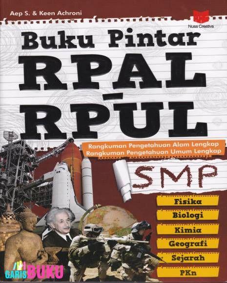 Buku Pintar RPAL – RPUL Toko Buku Online GarisBuku.com 02194151164 / 081310203084 Email : garisbuku@gmail.com