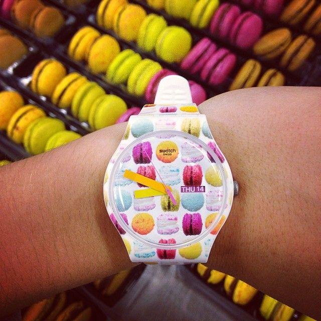 #SwatchSwatches Sweets, Watches Watches Swatches, Swatches Sebastienbruno, Swatches Clocks, Accessory Watches Mak