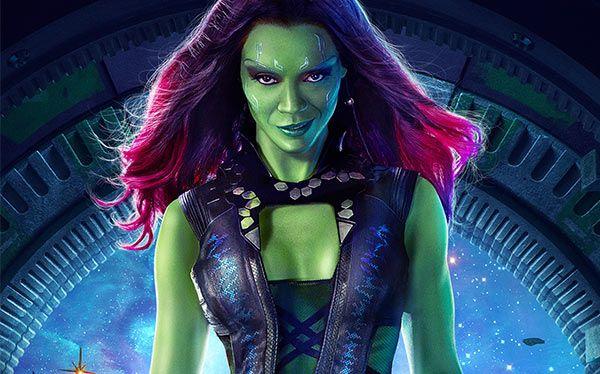 Hier findest du alle Accessoires, Inspiration und ein Makeup-Tutorial, um dein Gamora Kostüm selber machen zu können.