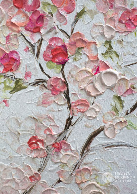 Beautiful Flower Paintings & Prints – Artist Melissa McKinnon – Abstract Floral Painter