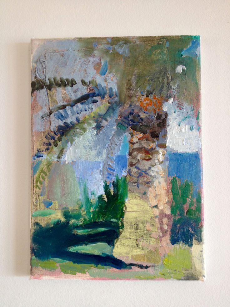 morning light, oil on canvas,  odette marais