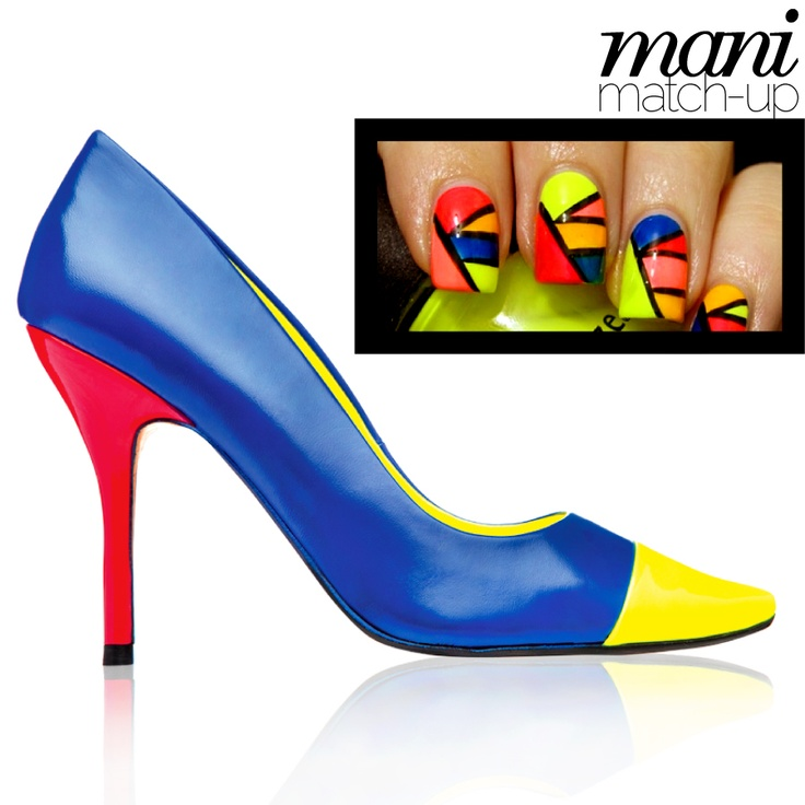 DAVID DIXON @TownShoes   114510020 *exclusive #blue #yellow #red #colourblock