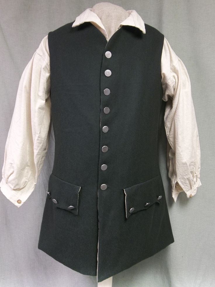 17 best images about 18th century repo clothing on for Best wool shirt jackets