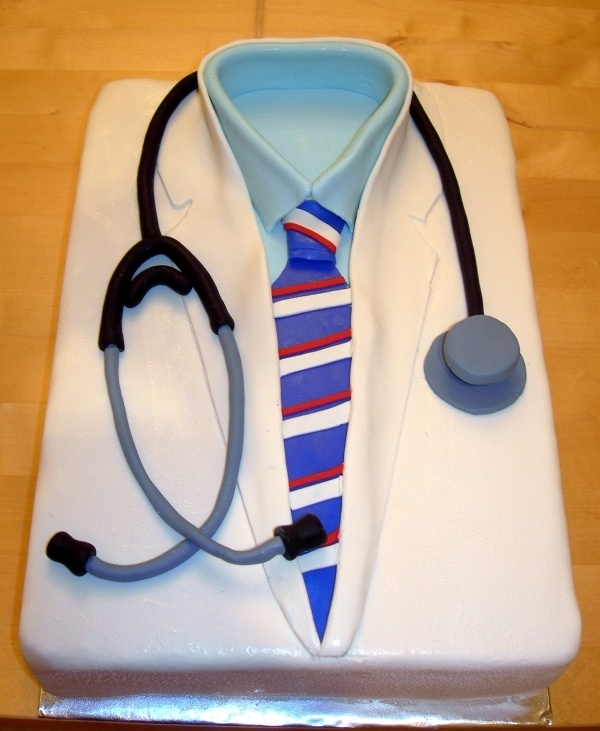 Medical School Graduation Cake or getting into medical school cake! I hope I can make this in the near future!