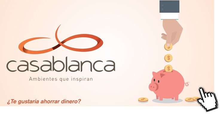 ¿Te gusta ahorrar dinero? Compra on-line en Casablanca. Averigua cómo hacerlo en http://goo.gl/xliiR8