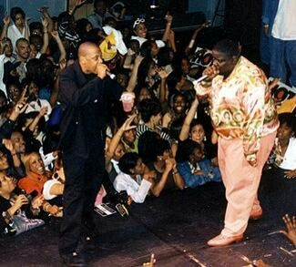 28 Photos That Defined the '90s Bad Boy Era - Jay Z and The Notorious B.I.G.