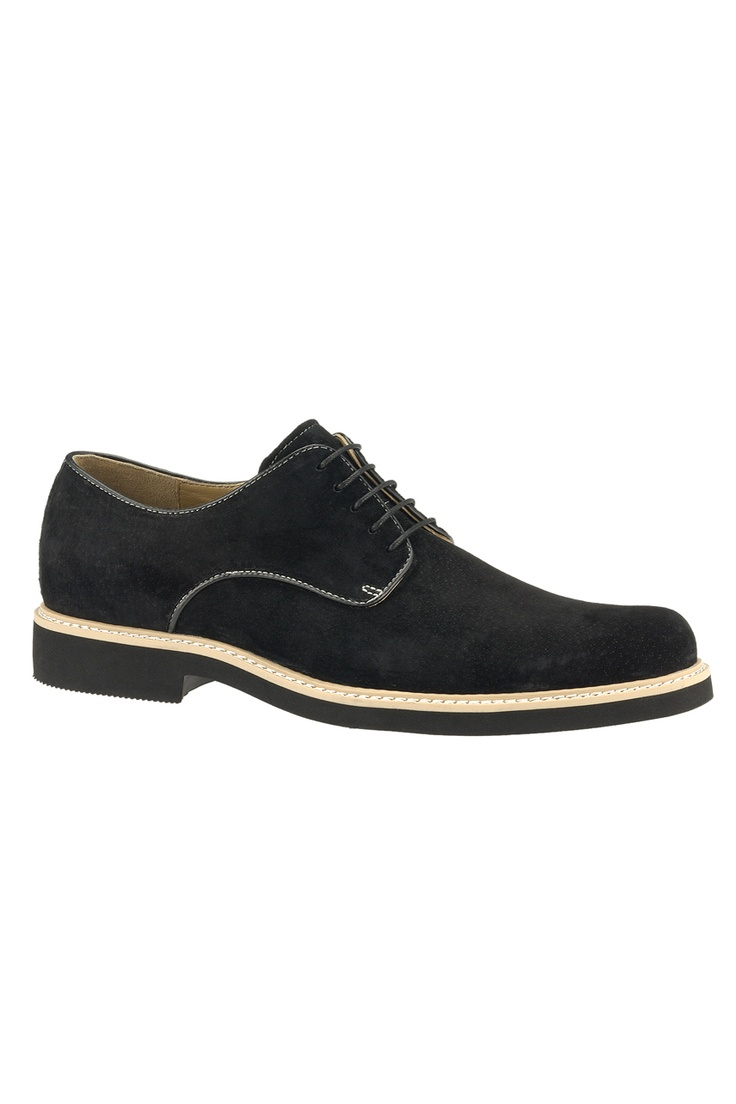 Hush Puppies Retrospect Shoe In Black Suede - Beyond the Rack
