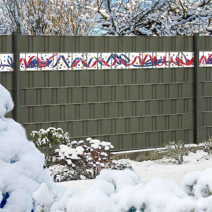 Wenn die Silvesterparty auch im Garten stattfindet ist hier die richtige Dekoration für den Gittermattenzaun. https://www.haus-gartenportal.de/sichtschutz/sichtschutzstreifen/motiv-sichtschutz-kreativ/kreativstreifen-luftschlangen.html