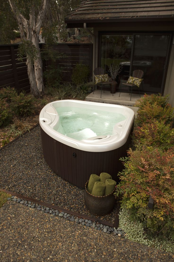 1000 images about hot spring spas hot spot hot tub models for Small hot tubs for small spaces