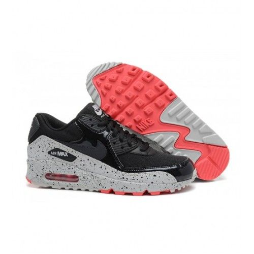 6538492906d Nike Mulheres - Barato Air Max 90 Nike Mulheres Tenis De Corrida Preto Star  0176