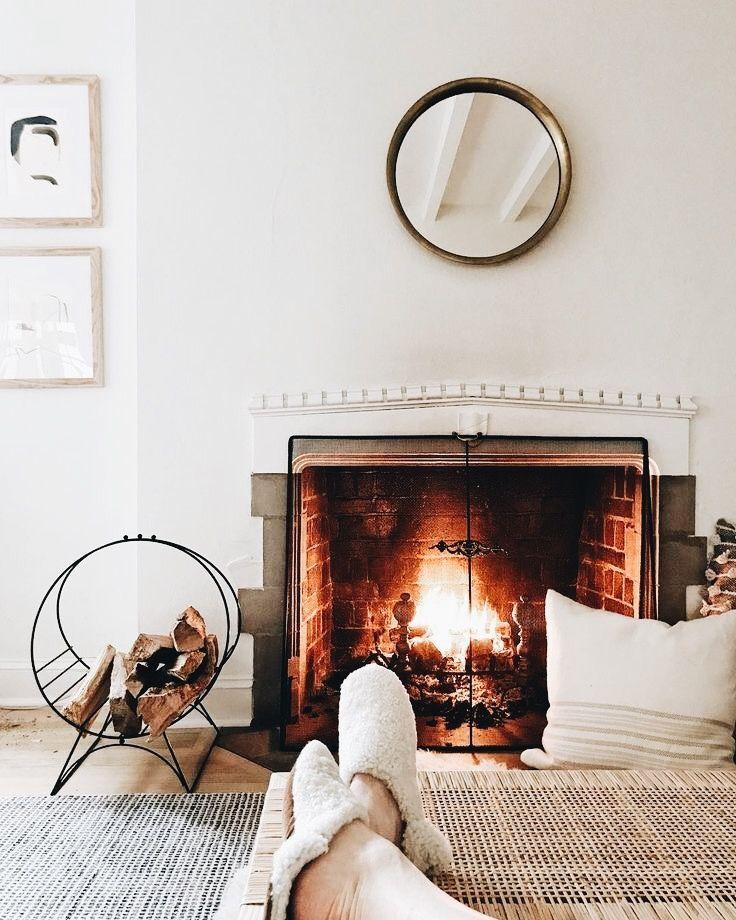 les 972 meilleures images du tableau au coin du feu sur pinterest d co salon d coration. Black Bedroom Furniture Sets. Home Design Ideas