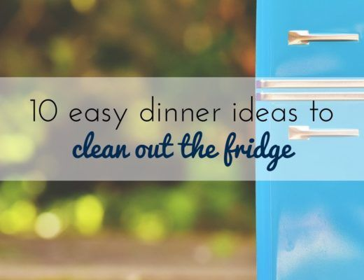 Five easy recipes to clean out the fridge