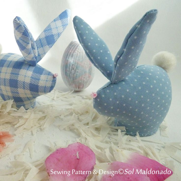 FREE easter bunnies pattern rabbot bunny