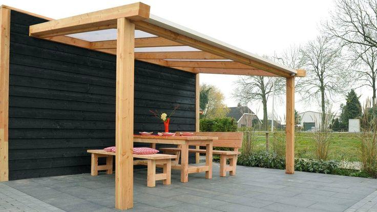 Met een veranda verandert jouw terras in een sfeervolle buitenkamer waar het heerlijk relaxen en loungen is.