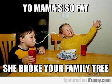 Yo Mama's So Fat...