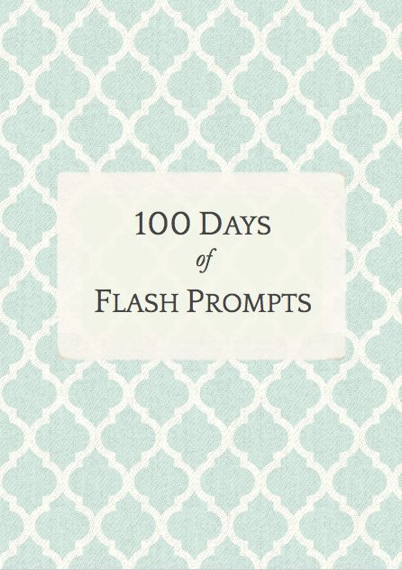100 Days of Flash Prompts | Practice your flash fiction writing skills with this free ebook of 100 days of writing prompts.