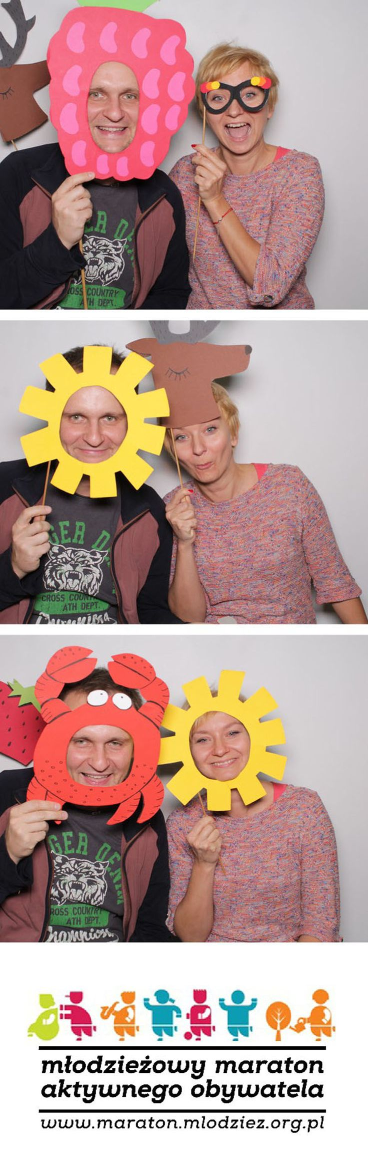 Magda (17 l.) i Andrzej (33 l.) z Warszawy montowali huśtawkę dla dzieci w ramach akcji Monaru. Tej aktywności towarzyszyła refleksja, że należy cenić to, co się ma.