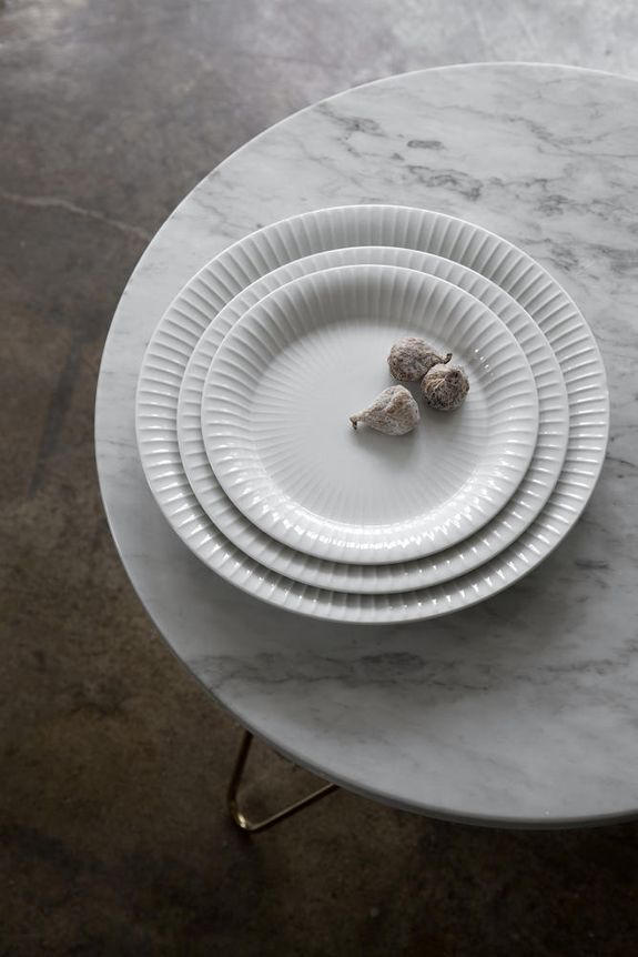 Hammershøi tableware set - by Hans-Christian Bauer for Kähler