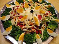Salade de pâtes aux brocolis - cliquez sur la photo pour l'agrandir
