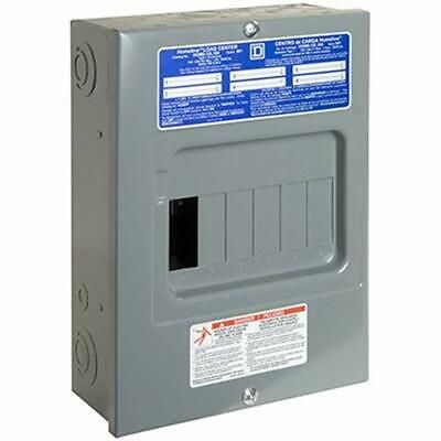 Ad Ebay Url Square D Schneider Electric Hom612l100scp Homeline Amp 6 Space 12 Circuit Indoor Electrical Breaker Box Electrical Breakers Circuit