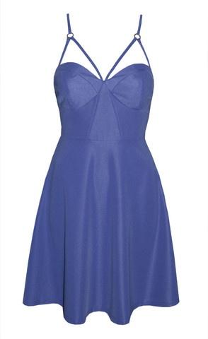 Kerry Lilac Strappy Dress $55.95 www.littlepartydress.com.au