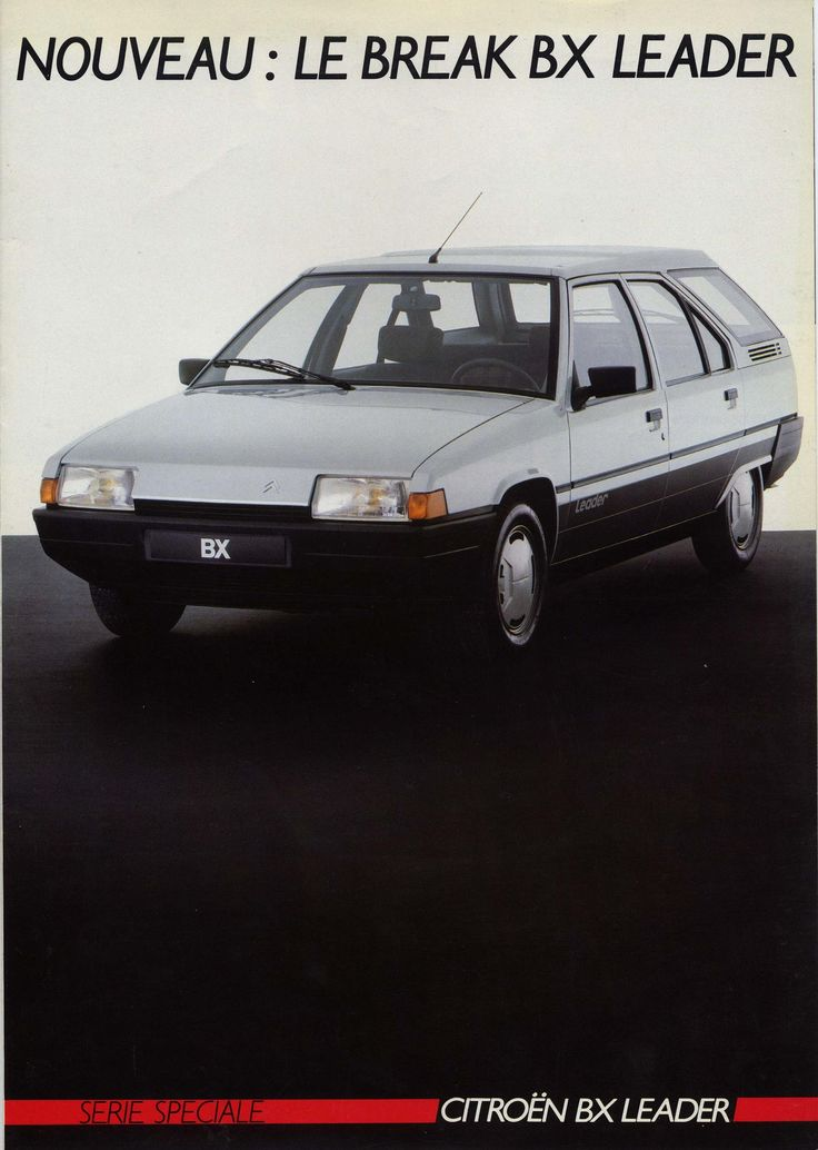 Citroën BX Leader Break - depliant