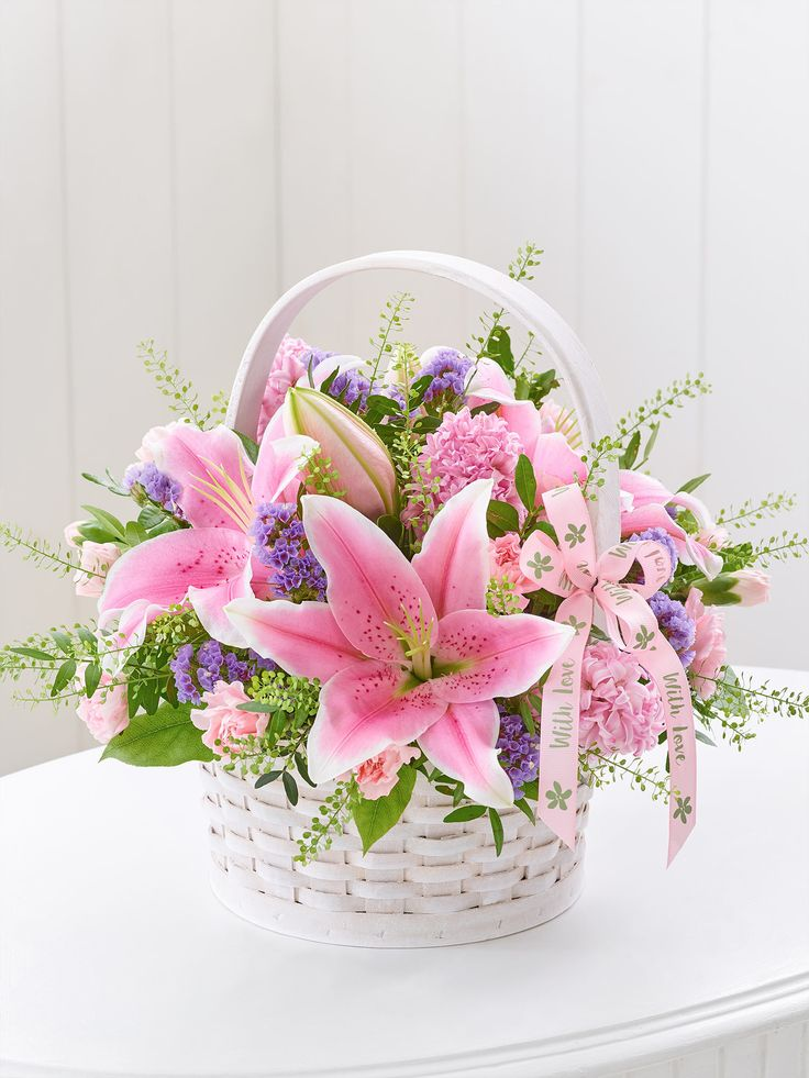 Cute stargazer basket