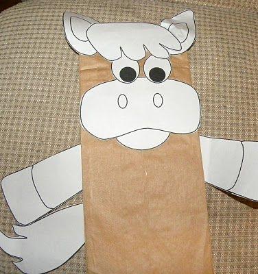 horse-donkey for Palm Sunday