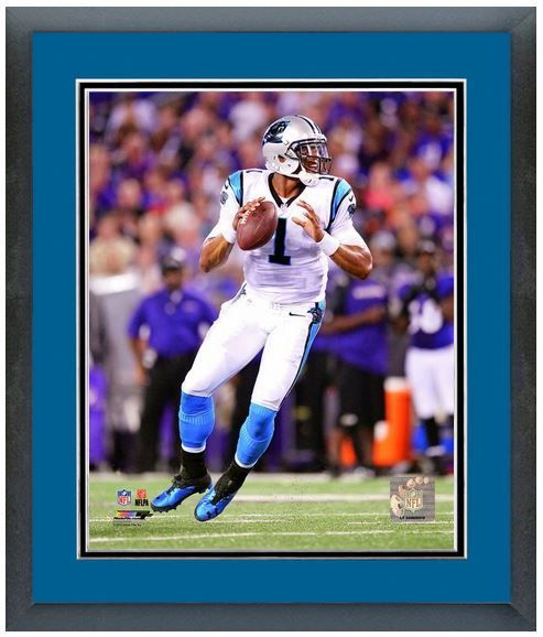 "Cam Newton 2013 Carolina Panters - 11 ""x14"" Framed/Matted Portrait Plus"