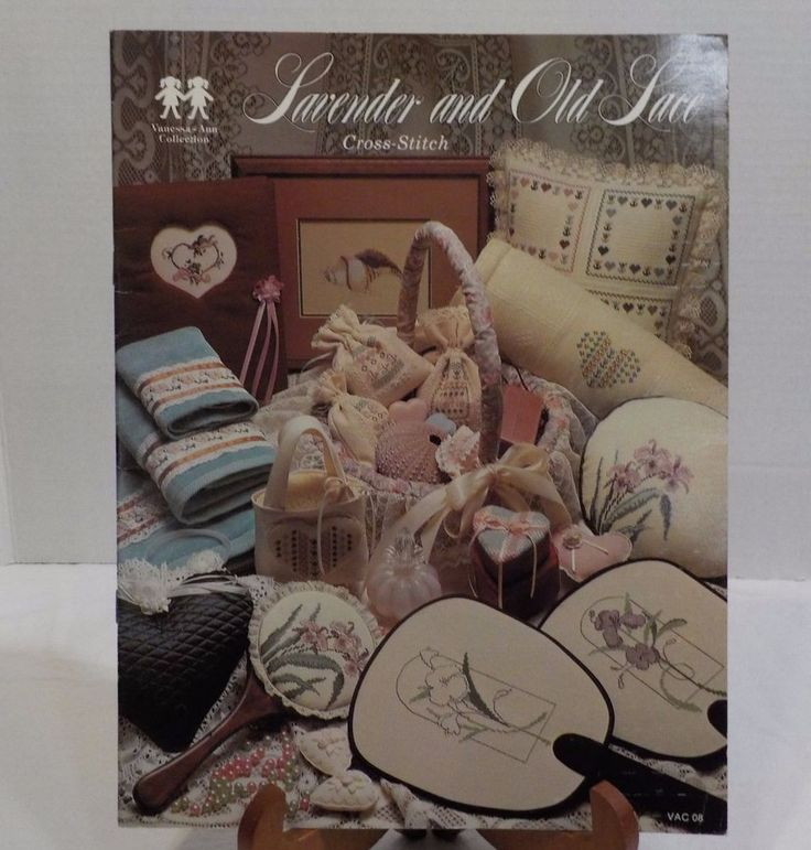 Lavender and Old Lace Love Xmas Flowers Borders Counted Cross Stitch Patterns  #vanessaanne #Sampler