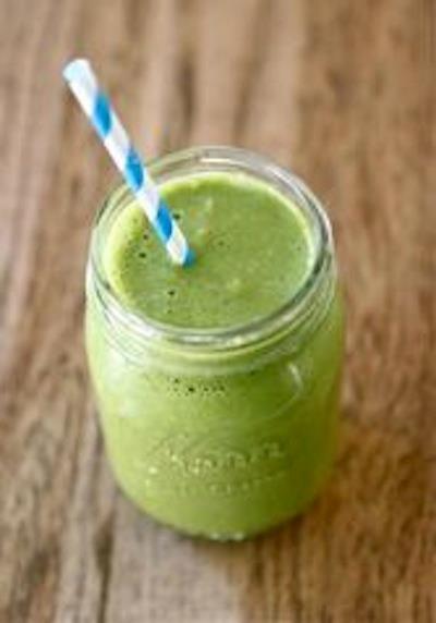 IdealShape Green Smoothie Jubilee  1 Scoop IdealShake Vanilla  1 Large Orange  1/2 of a large banana  6 large strawberries  2 cups spinach  1/3 cup plain Greek yogurt (I use Chobani 0%)  1 cup ice  -------------------------------------  IdealShake: 11g of Protein, 5g of Fiber, and Hunger Blocker