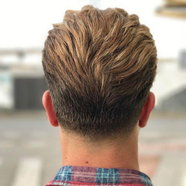 32++ Mens haircut back view ideas in 2021