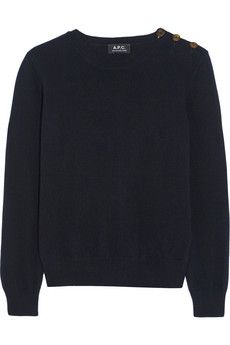 A.P.C. Atelier de Production et de Création Kelly wool and cashmere-blend sweater | NET-A-PORTER