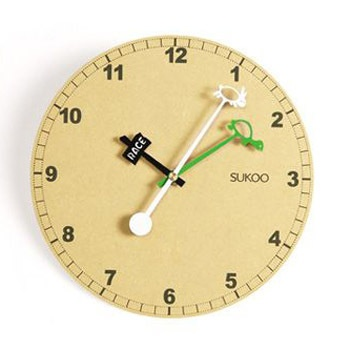 Just bought the cutest clock for our homeschool room:)