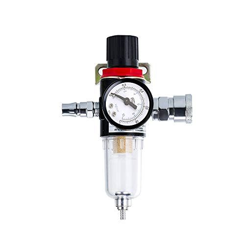 Windyus 1 4 Bsp Air Compressor Airbrush Filter Moisture Trap Oil Water Separator Regulator Lubricator Windyus 1 4 Compressor Airbrush Filter