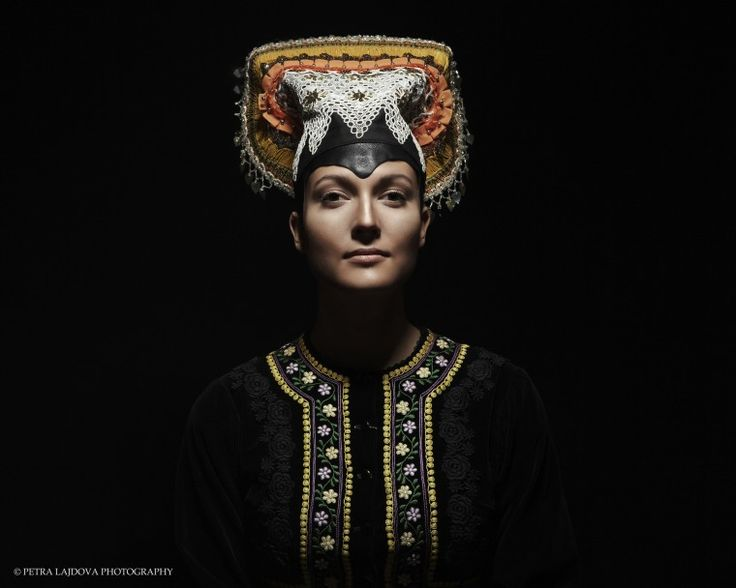 Petra Lajdova Photography 'Slovak Renaissance'  Exhibition of Slovak traditional wedding costumes and headwear Tekov cepiec 1981