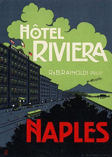 Vintage Italian Posters ~ #Italian #vintage #posters ~ Naples
