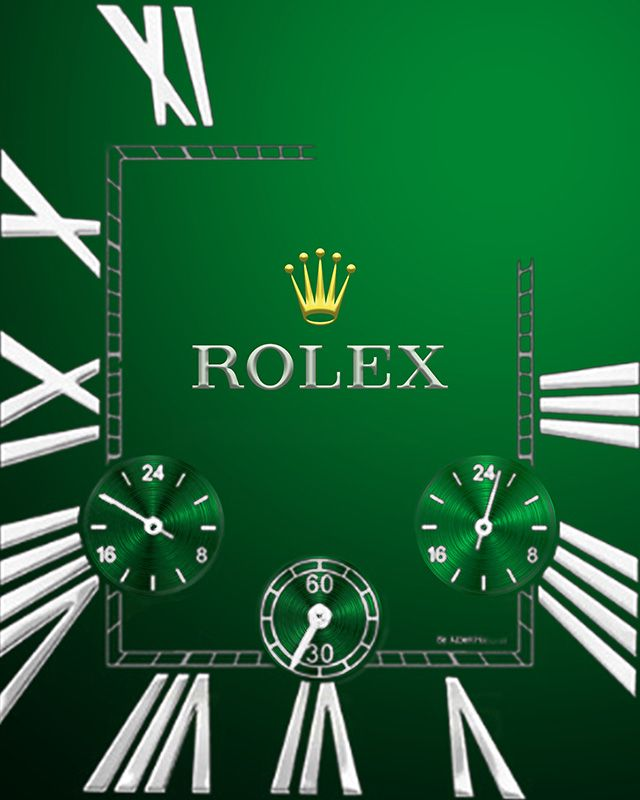 Rolex green - Apple Watch Face