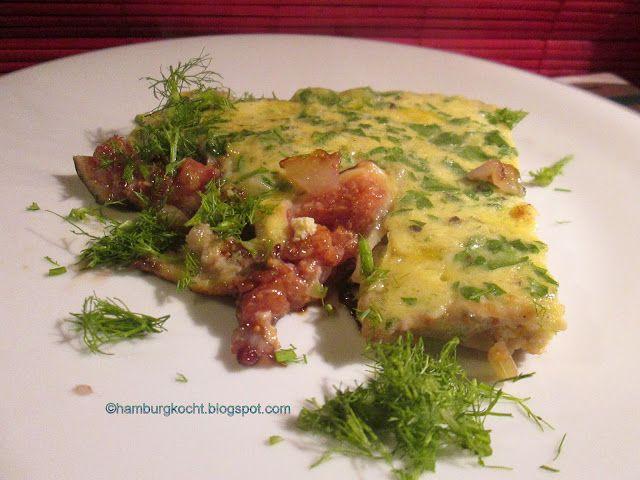 Hamburg kocht!: Omelett mit gebratenem Fenchel und Feigen nach Chr...