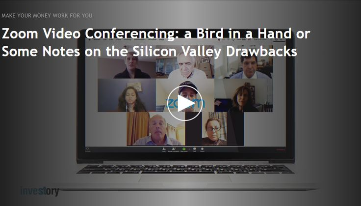 Zoom Video Conferencing: Is it a huge startup success with undisclosed profits or still at the mercy of fundraising? Find out at https://investory-video.com/zoom * * * * * #startups #investor #startup #zoom #video #conferencing #profits