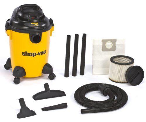 Shop-Vac 9650600 3.0-Peak Hp Pro Series Wet Or Dry Vacuum, 6-Gallon, 2015 Amazon Top Rated Wet/Dry Vacuums #HomeImprovement