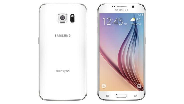 New #Samsung #GalaxyS6 original back cover white now available at lowest price. #Smartphone