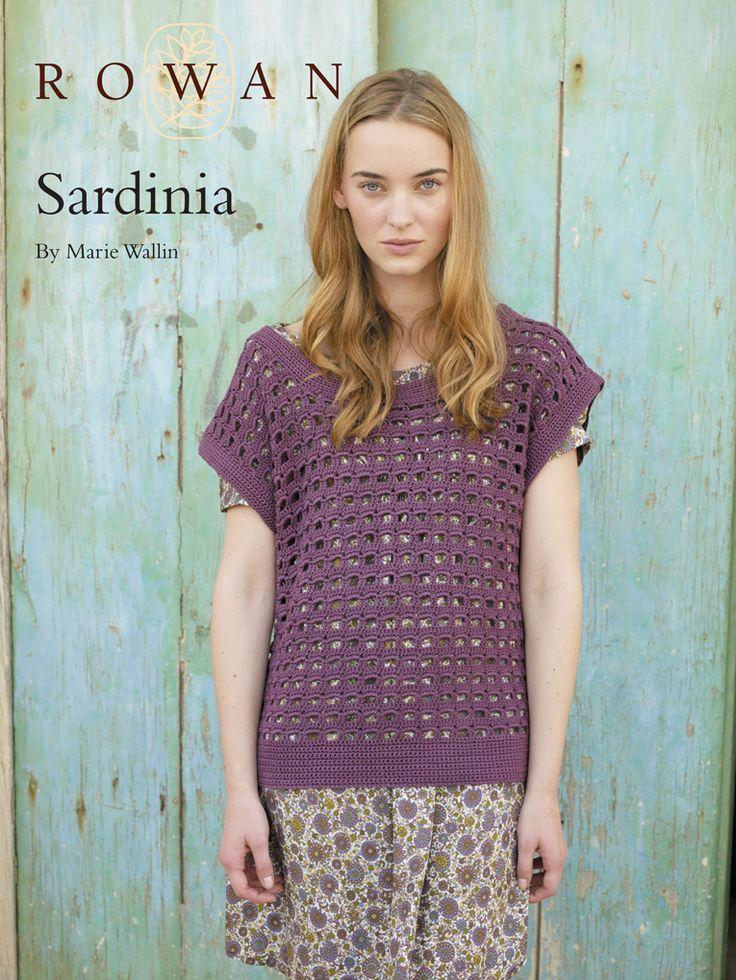 Sardinia crochet- UK terms, DK yarn, 1134 yds, 3.5mm hook