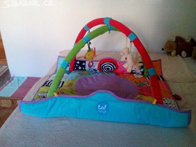 Hraci deka s hrazdou Taf toys - obrázek číslo 1