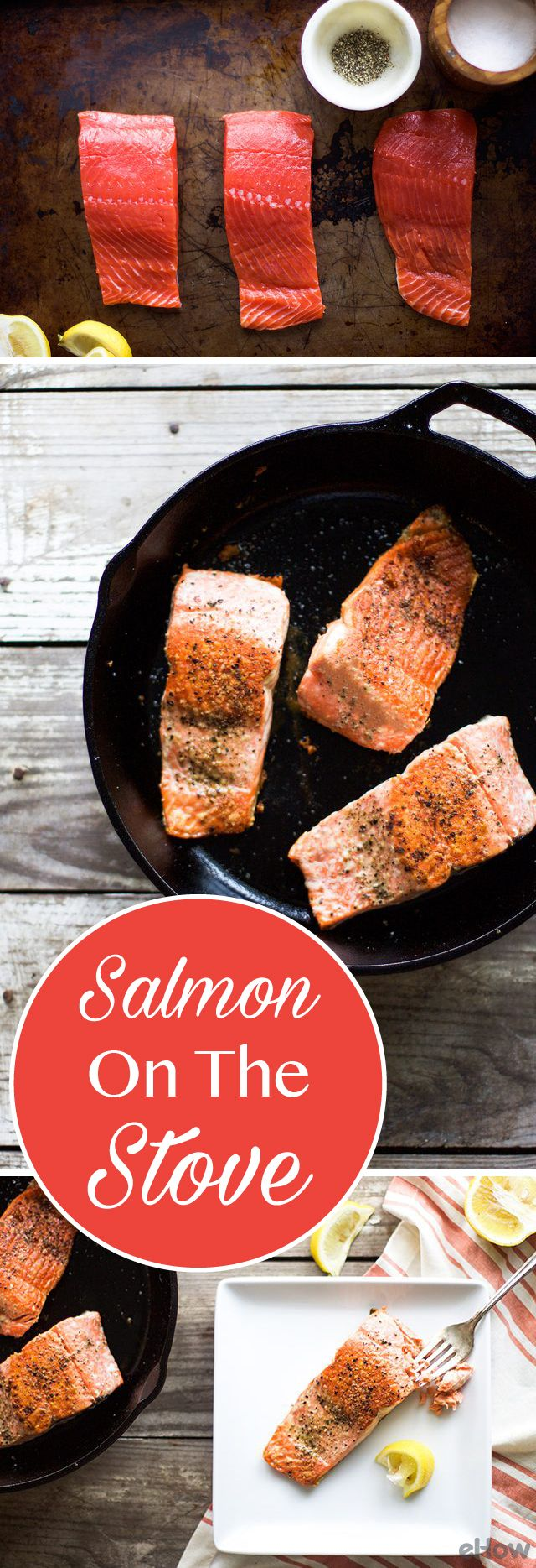 How to Cook Salmon on the Stove   Salmon on the stove ...