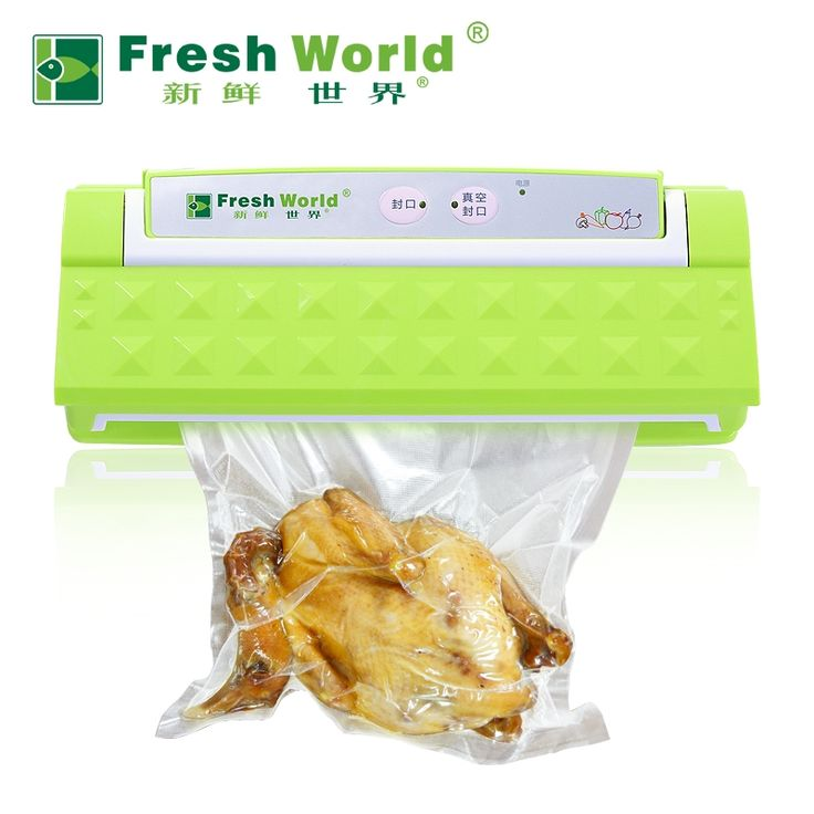 100.80$  Buy here - http://alis67.worldwells.pw/go.php?t=32681412608 - Free shipping commercial food vacuum packaging machine automatic household vacuum sealing machine for plastic packaging 100.80$