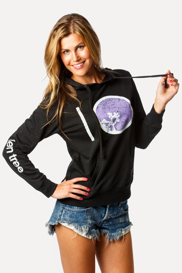 """It's back in black. Head over to www.tentree.com and pick up your own classic """"Barrel"""" hoodie today."""