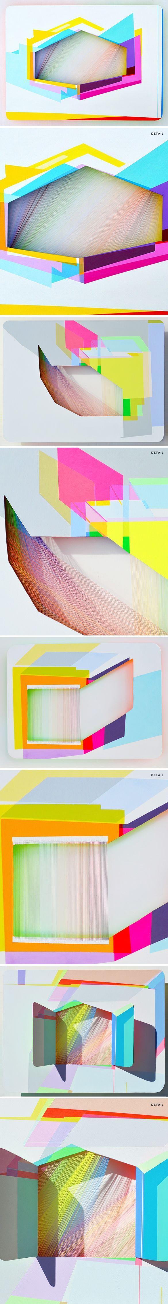 xuan chen - thread, paint, aluminum <3